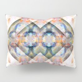 Multi-Colored Abstract Symmetry (Day) Pillow Sham