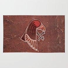 Aboriginal Hawk Attack Rug