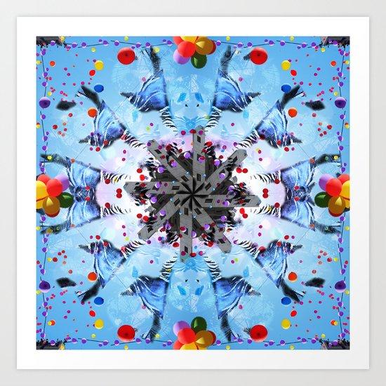 Mandala series #16 Art Print
