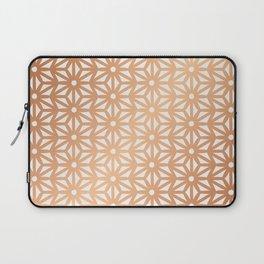 Asanoha Pattern - Rose Gold Laptop Sleeve