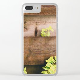 Country side mood Clear iPhone Case