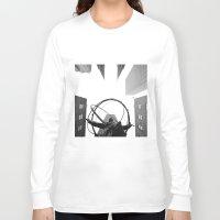 atlas Long Sleeve T-shirts featuring Atlas by Evan Morris Cohen