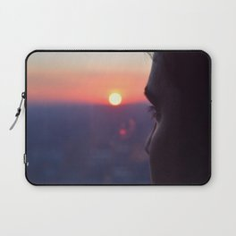 Sunset on Chicago Laptop Sleeve