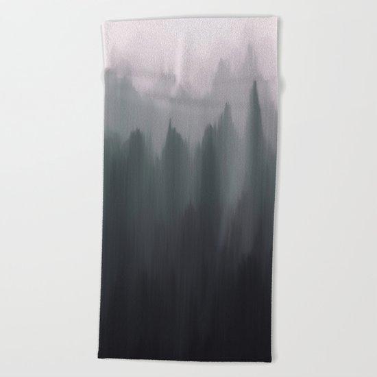 Morning Fog II Beach Towel