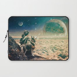 Watching Closely Laptop Sleeve