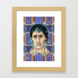 A hologram from Fayum Framed Art Print