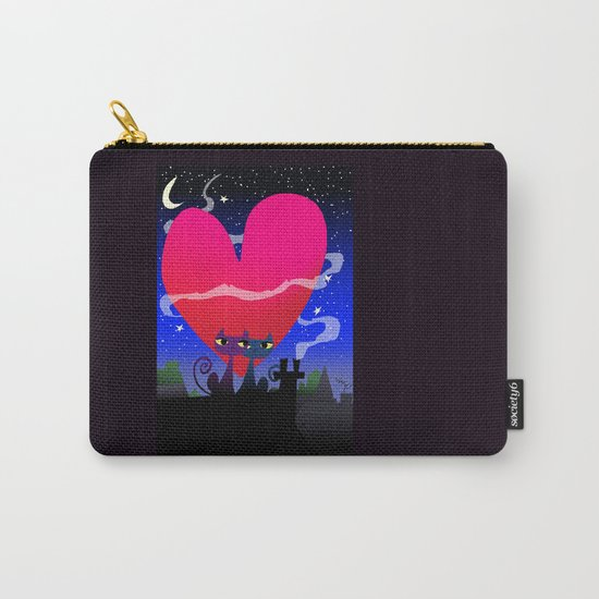 Valentines Cats Carry-All Pouch