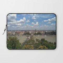 Budapest /Danube River/ Summer/ sunshine Laptop Sleeve