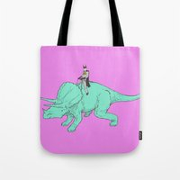 returns Tote Bags featuring DB returns by Isaboa