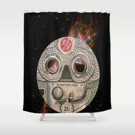 Clear Vision  Shower Curtain