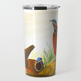 Blue-headed Pigeon Travel Mug