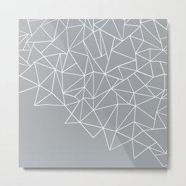 Ab Storm Grey Metal Print