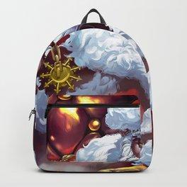 Holiday Christmas Santa Santa Hat Backpack