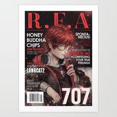 [RFA Cover] 707 Art Print