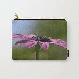 Macro Shot Of A Purple Osteospermum Carry-All Pouch
