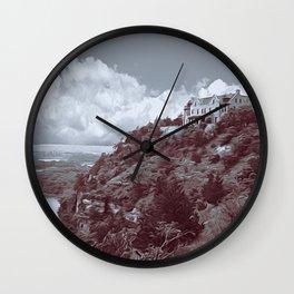 Ha Ha Tonka in Selenium and Gray Wall Clock