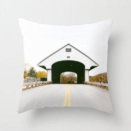 Bridge to Nowhere Landscape Throw Pillow