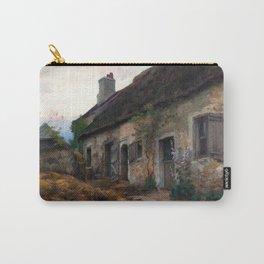 Marc-Aurèle de Foy Suzor-Coté - Thatched Hut and Landscape Carry-All Pouch