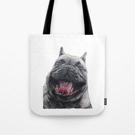 Frenchie Greyson Tote Bag