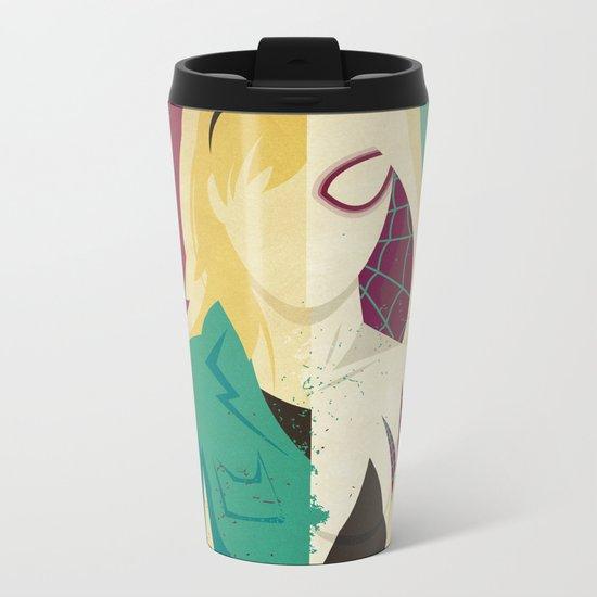 Spider Gwen Metal Travel Mug