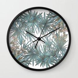 Surf Palmetto Wall Clock