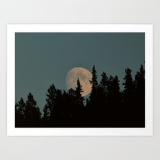 Rising Moon Art Print