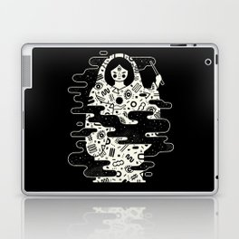 The Magician: Black Magic Laptop & iPad Skin