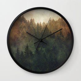 Asleep Wall Clock