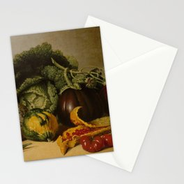 James Peale - Still Life With Vegetables Stationery Cards