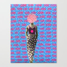 Walking Dot Canvas Print