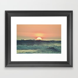 See you on the other side Framed Art Print