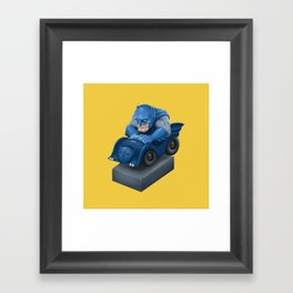 BatMini Framed Art Print
