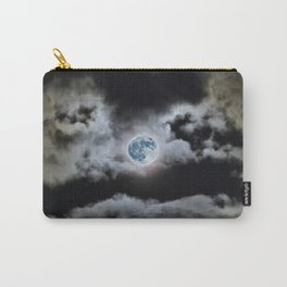 Blue Moon I Wonder Carry-All Pouch