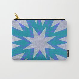 Blue Shadows Carry-All Pouch
