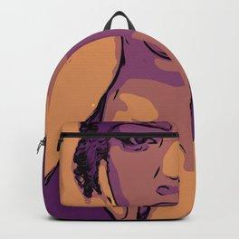 Purple Lip Licker Backpack