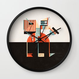That Evil Paradise Wall Clock