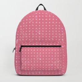 Pink Dot Pattern Design Backpack