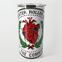 Worcester Roller Derby's Hurt of The Commonwealth Travel Mug