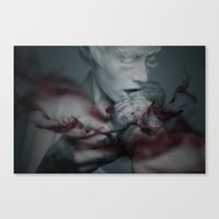 the cure Canvas Prints featuring Cure by Imustbedead