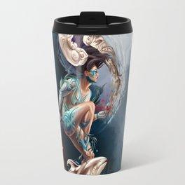 Sedna: Inuit Goddess of the Sea Travel Mug