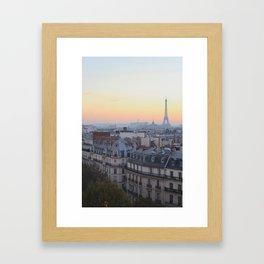 Ce soir. Framed Art Print