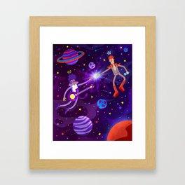 Bowie Reunited Framed Art Print