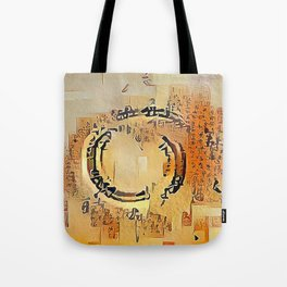 Enso Calligraphy Tote Bag