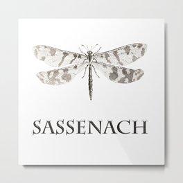 DRAGONFLY SASSENACH Metal Print