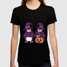 witch penguin T-shirt