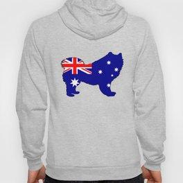 Australian Flag - Samoyed Hoody