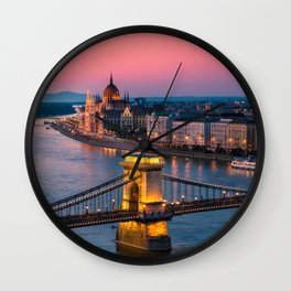 BUDAPEST 02 Wall Clock