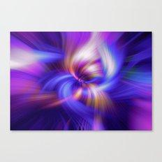 Abstract Twirls Wallpaper Canvas Print
