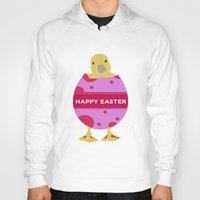 easter Hoodies featuring Happy Easter  by Sammycrafts