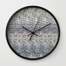 Hidden 3D Wall Clock